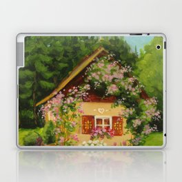 Tiny Cottage House Laptop & iPad Skin