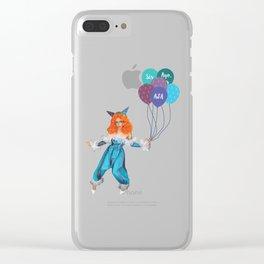 Aja - Clown Clear iPhone Case