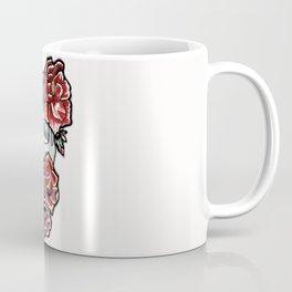 Flower Skull Coffee Mug