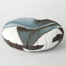 Night Ficus #3 Floor Pillow