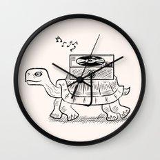Tortoise Wax Wall Clock