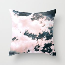 Ocean Clouds - Nature Photography Throw Pillow