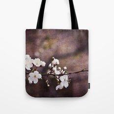 Purple Spring Tote Bag