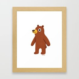 Oso Framed Art Print