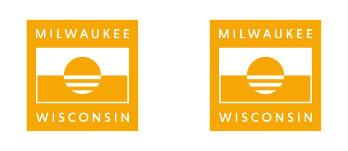 Milwaukee Wisconsin - Gold - People's Flag of Milwaukee Coffee Mug