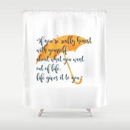 Honest Shower Curtain