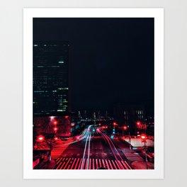 Queens Midtown Tunnel / FDR Art Print