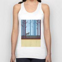 woods Tank Tops featuring Woods by Kakel