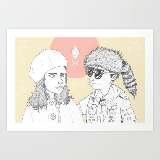 """I love you but you don't know what you're talking about"" Art Print"