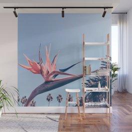 Birds of Paradise Print {3 of 3} | Palm Trees Ocean Summer Beach Cool Blue Photography Art Wall Mural