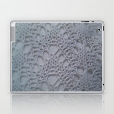 icy blue crochet cotton Laptop & iPad Skin