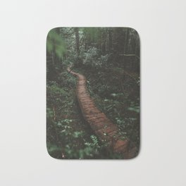 Olympic National Park Forest Trail Bath Mat