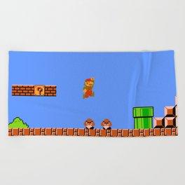 Mario Bros Beach Towel