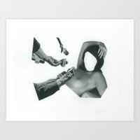 whatever Art Prints featuring Whatever by fabiotir