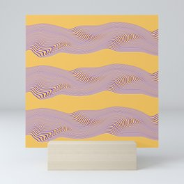 Roaming Waves Mini Art Print