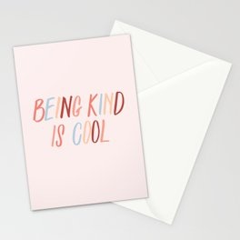 Being kind is cool Stationery Cards