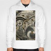 clockwork Hoodies featuring Clockwork Homage by DebS Digs Photo Art