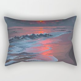 Summer's Passing Rectangular Pillow