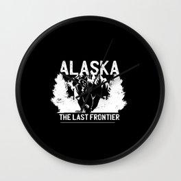 ALASKA BEAR QUOTE Wall Clock