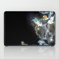 dbz iPad Cases featuring DBZ Tesla Milky Way by Hushy