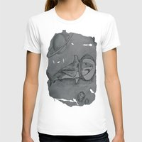 outer space T-shirts featuring Outer Space Shark by Pink Shark Scales