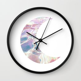 Trippy Moon Wall Clock