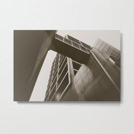 Clean Lines Metal Print