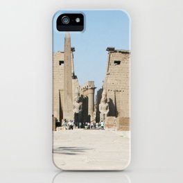 Temple of Luxor, no. 11 iPhone Case