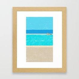 pool-2 Framed Art Print