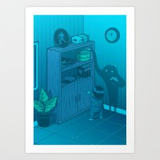 The power of imagination Art Print