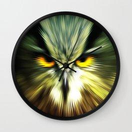 BAD OWL Wall Clock
