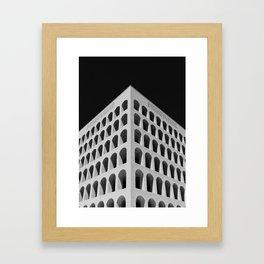 Palazzo della Civiltà Italiana Framed Art Print
