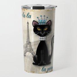 Oo-la-la, the French Princess Kitty Travel Mug