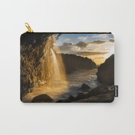 Gone Fishing - sea angling off Hawaii shore Carry-All Pouch