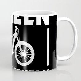 Bicycle Saying Funny Smile Instead Of Panting Coffee Mug
