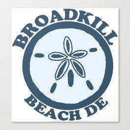 Broadkill Beach - Delaware. Canvas Print