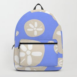 Sand Dollar Blue and Tan Backpack