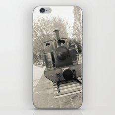 Train, gray. iPhone & iPod Skin
