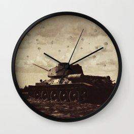 Never Heard Silence Quite This Loud Wall Clock