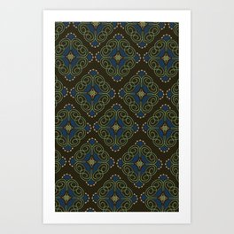 Dreaming of India Art Print