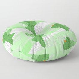 Cactus parade Floor Pillow
