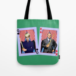 Frank and Claire - An Odd Pair Tote Bag
