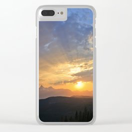 Beartooth Highway Clear iPhone Case