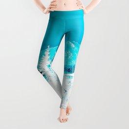 Turquoise Alaska - Pop Art I Leggings