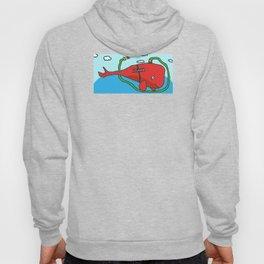 Fire truck whale Hoody