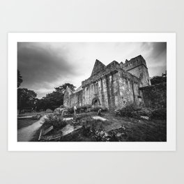 Muckross Abbey Art Print