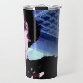 "Sigourney Weaver. In the movie ""Aliens"" Travel Mug"