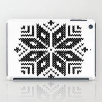knit iPad Cases featuring knit flake by Miranda J. Friedman
