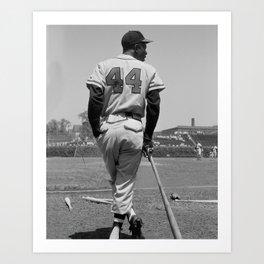 Hank Aaron Art Print