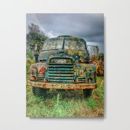 Moldy Old Truck. Metal Print